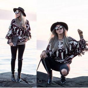 Zara Tribal Sweater Sz:M